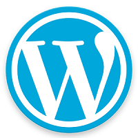 Wordpress Content Management System Logo