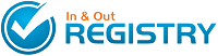 In and Out Registry needed Custom Web Design and Web Based Programming